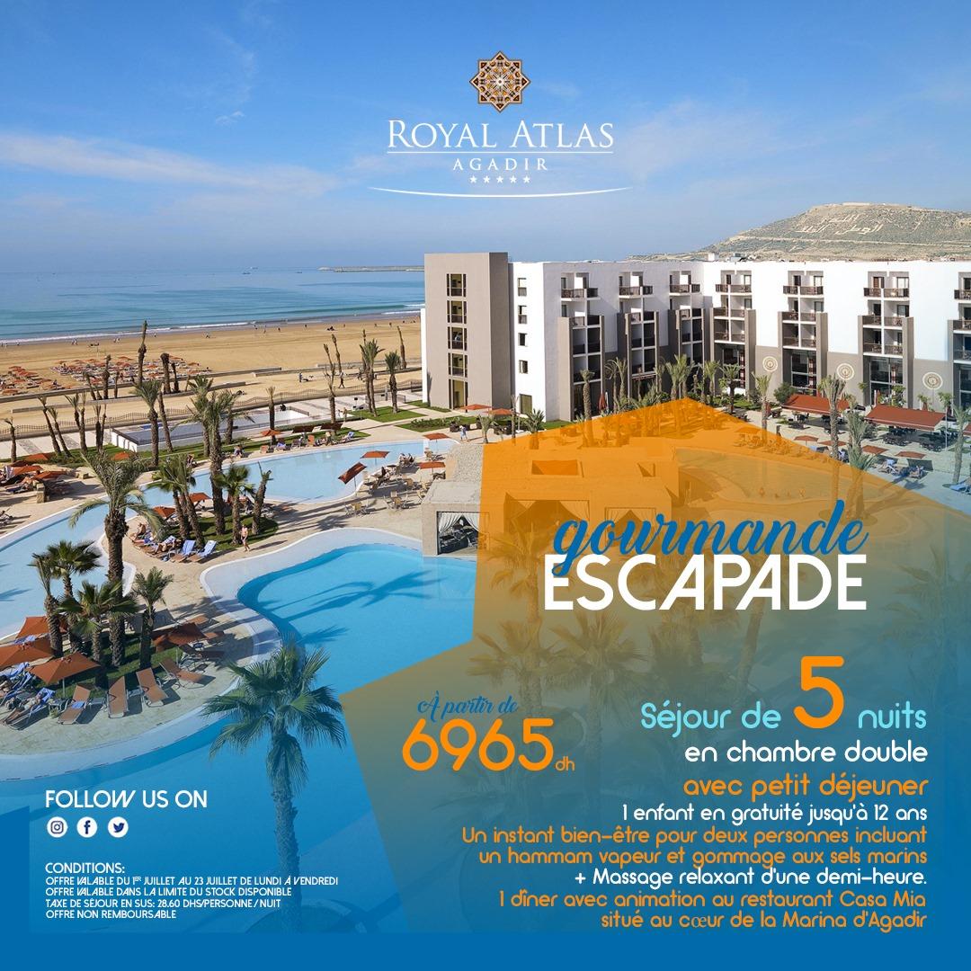 Escapade gourmande au Royal Atlas Agadir