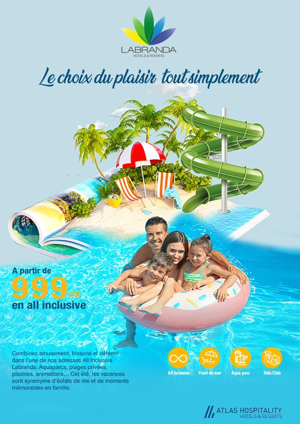 Le choix du plaisir au Branda Hotels & Resort