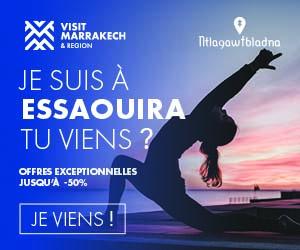 Je suis à Essaouira, tu viens ?